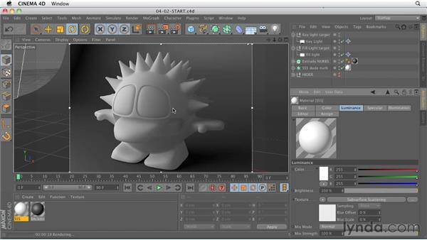 Subsurface Scattering shader : CINEMA 4D R13 New Features