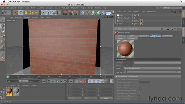Brick shader: CINEMA 4D R13 New Features