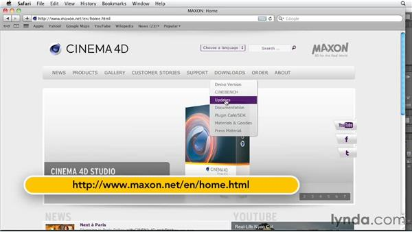 After Effects Exchange improvements: CINEMA 4D R13 New Features