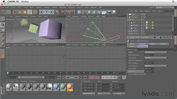 Stereoscopic workflow: CINEMA 4D R13 New Features