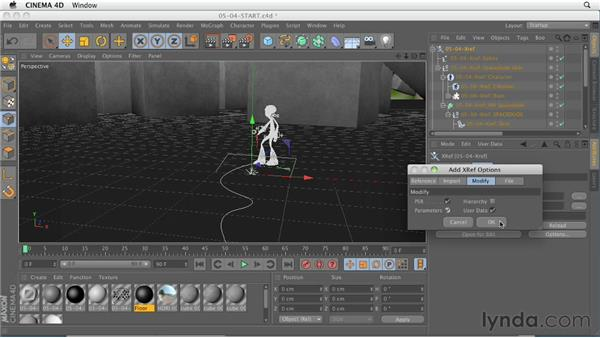 Xrefs format rewrite: CINEMA 4D R13 New Features