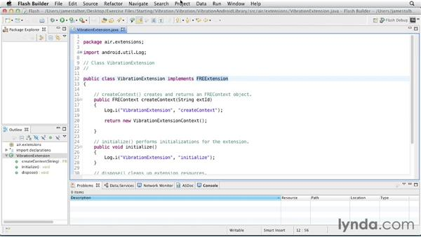 Understanding native Android code: Flex 4.6 and AIR 3.0 New Features for Mobile Apps
