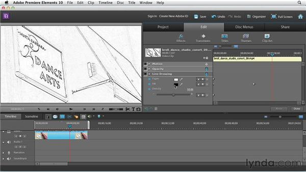 Animating video effects: Premiere Elements 10 Essential Training