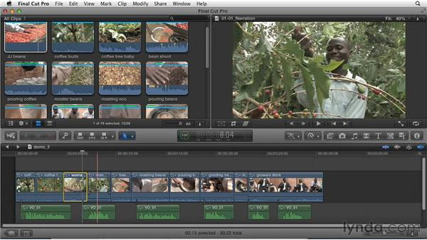 Exploring different types of storytellers: Effective Storytelling with Final Cut Pro X v10.0.9