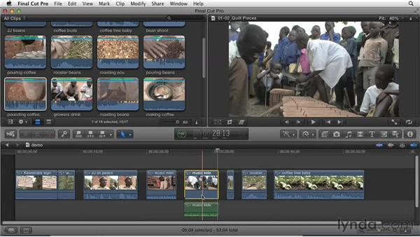 Identifying story elements: Effective Storytelling with Final Cut Pro X v10.0.9