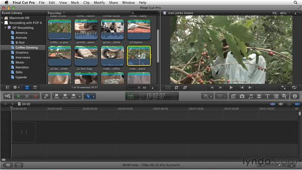 Don't be puzzled over your first edit: Effective Storytelling with Final Cut Pro X v10.0.9