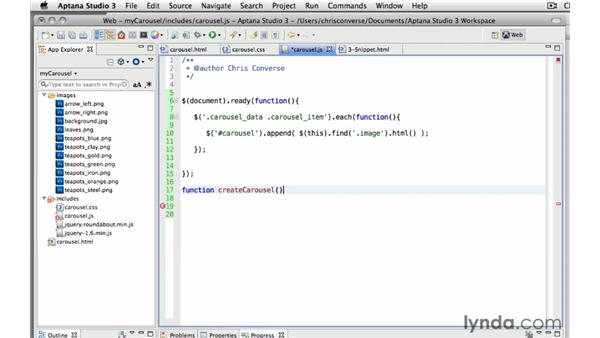 : Create a Rotating Carousel with jQuery