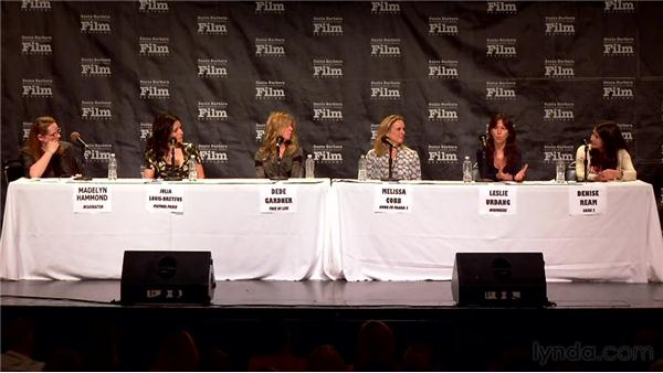 Finding the path for your indie film: 2012 SBIFF Women's Panel: Women in the Biz