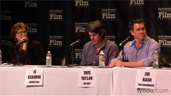 The road to the first draft: 2012 SBIFF Screenwriters' Panel: It Starts with the Script