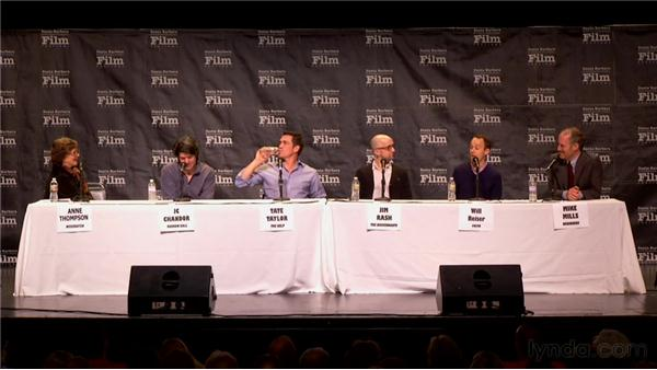 Working with Actors: 2012 SBIFF Screenwriters' Panel: It Starts with the Script