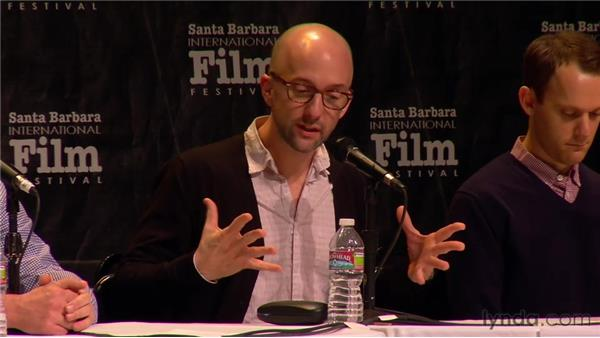 From notecards to final draft - the writing process: 2012 SBIFF Screenwriters' Panel: It Starts with the Script