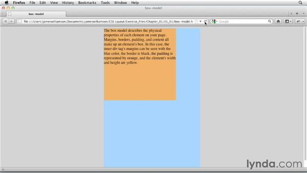 Box model review : CSS: Page Layouts