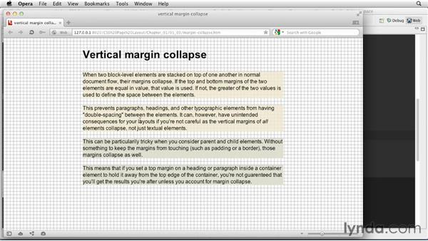 Understanding margin collapse : CSS: Page Layouts
