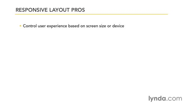 Responsive layout overview: CSS: Page Layouts