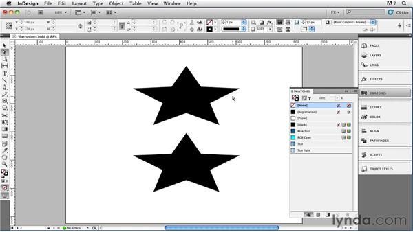 027 Drawing Extrusions, Part 1: InDesign FX