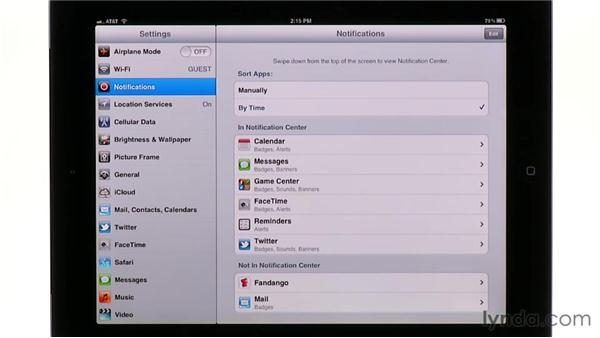 Using Notification Center: iPad Tips and Tricks (2010)