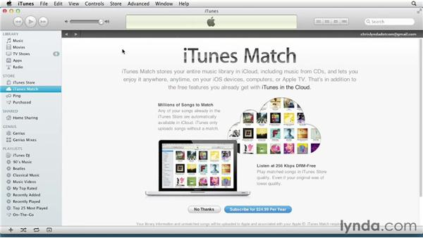 Using iTunes Match to keep music updated on multiple devices: iPad Tips and Tricks (2010)