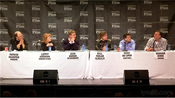 Defining the producer credit: 2012 SBIFF Producers' Panel: Movers & Shakers