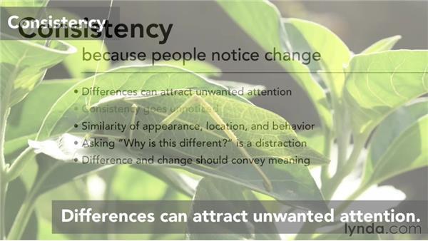 Consistency: Interaction Design Fundamentals