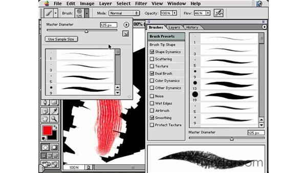 general brush options: Photoshop Brushes