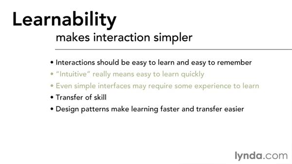 Learnability: Interaction Design Fundamentals
