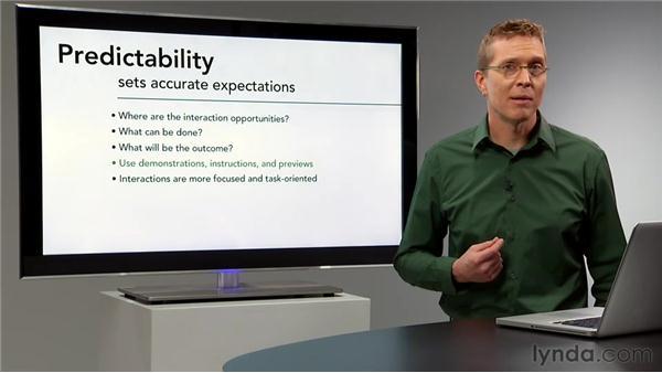 Predictability: Interaction Design Fundamentals