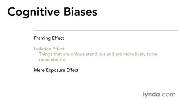 Cognitive biases: Interaction Design Fundamentals