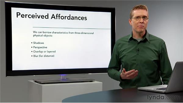 Perceived affordances: Interaction Design Fundamentals