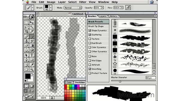 other dynamics: Photoshop Brushes