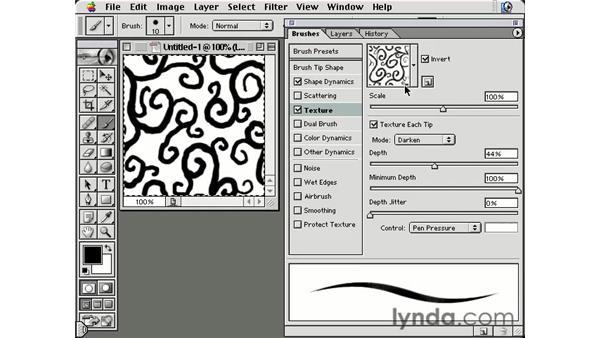 seamless tile texture: Photoshop Brushes
