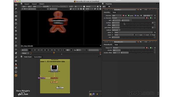 The MotionBlur2D node: Nuke 6 New Features