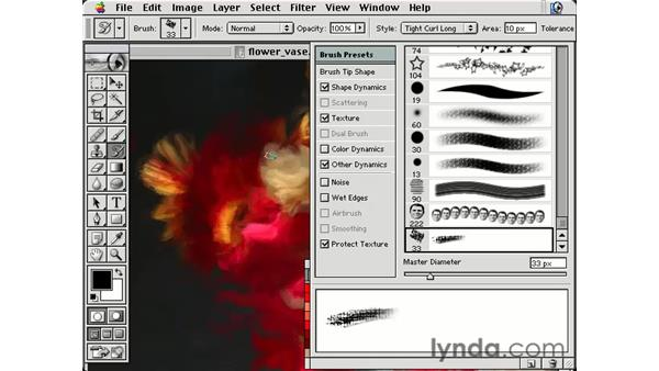 storing art history: Photoshop Brushes