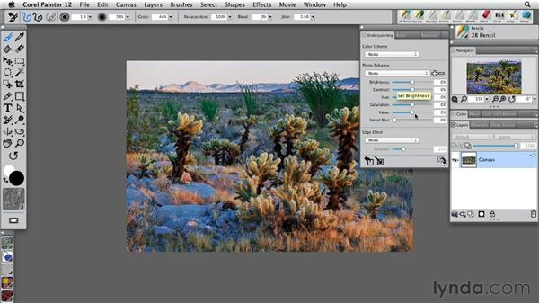 Understanding the Underpainting palette: Painter 12 Essential Training