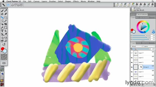 Working with layer masks: Painter 12 Essential Training