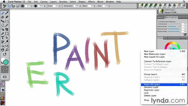 Working with nozzle files: Painter 12 Essential Training