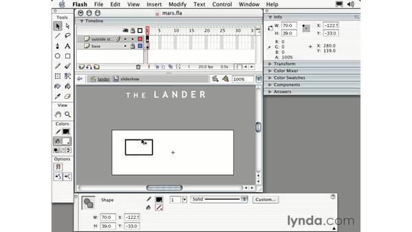 slideshow part one: Intermediate Flash MX