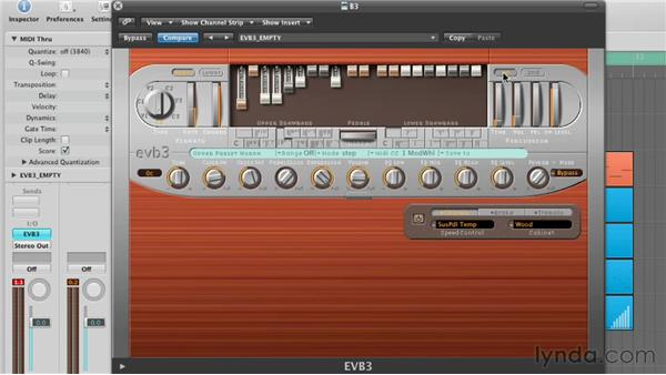 Adding Vibrato and Percussion Parameters: Virtual Instruments in Logic Pro