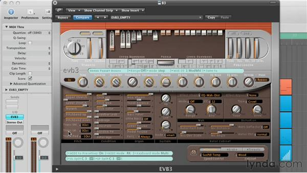 Customizing the Pitch and Condition Parameters: Virtual Instruments in Logic Pro