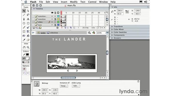 slideshow part seven: Intermediate Flash MX