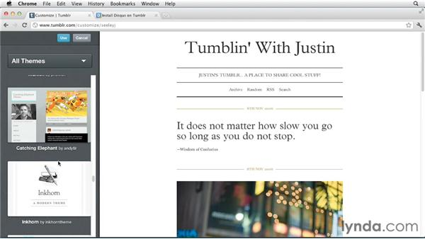 Adding comments with Disqus: Up and Running with Tumblr