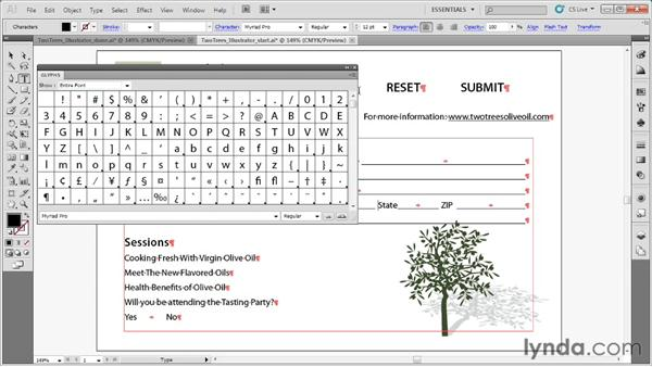 Designing forms in Illustrator: Acrobat X: Creating Forms