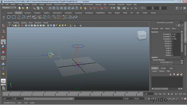 Pole vector constraints: Character Rigging in Maya