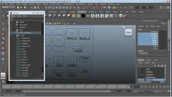 Limiting controller motion: Character Rigging in Maya