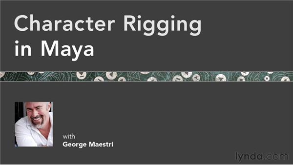 Goodbye: Character Rigging in Maya