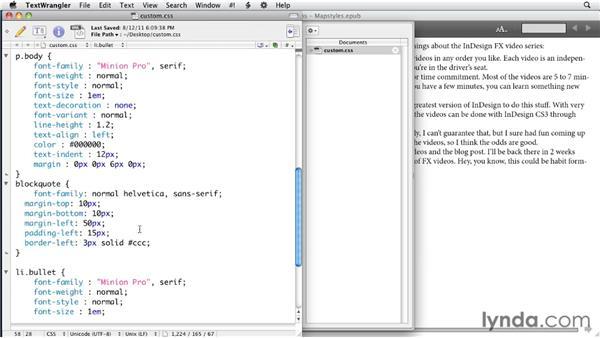 024 Adding custom HTML tags to EPUB/HTML exports: InDesign Secrets