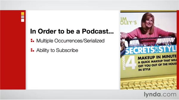 Creating a podcast: Maximizing Your Web Video and Podcast Audience with Hypersyndication