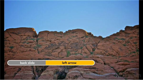 Creating a slideshow with a preset: Creative Slideshows with Aperture