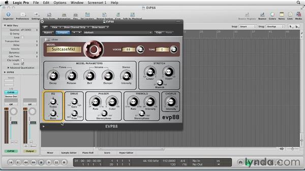 Getting Started with EVP88: Virtual Instruments in Logic Pro