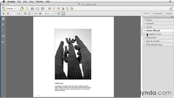 Extracting images with Acrobat Pro: Creating a Fixed-Layout EPUB