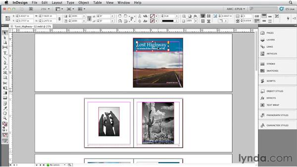 Using layers to isolate text: Creating a Fixed-Layout EPUB